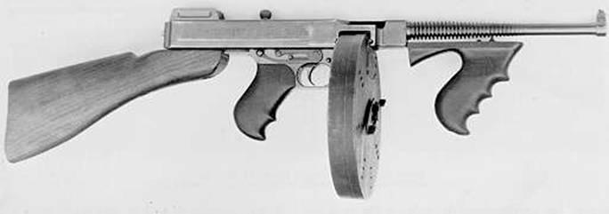 tommy gun в играх
